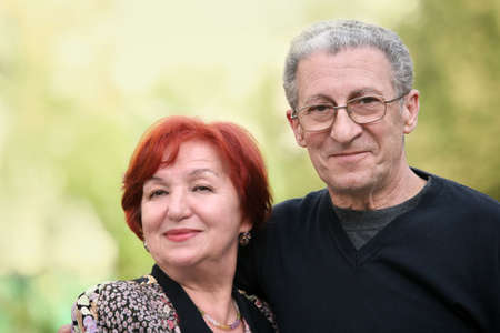 A portrait of a happy mature couple Stock Photo - 4932339