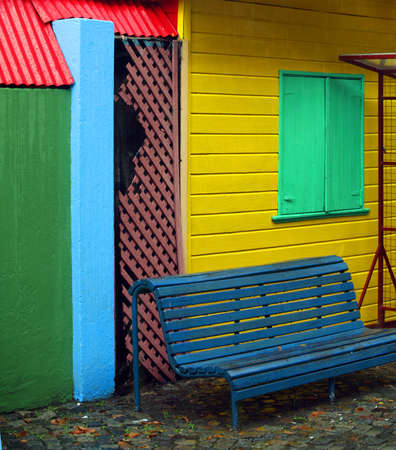 Colorful district La Boca in Buenos Aires Stock Photo - 4933741