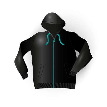 raincoat: Sport raincoat in vector