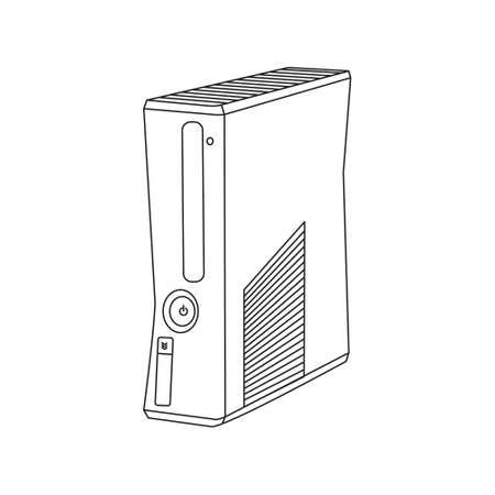 computer case: Vector game console, computer case
