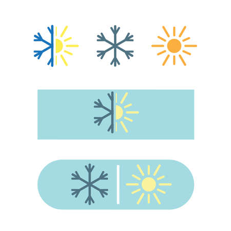 defrost: Vector air conditioning icon