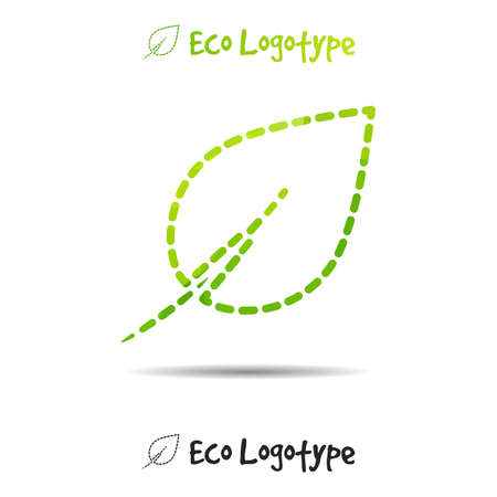 clean energy: Vector ecology logo or icon , nature logotype