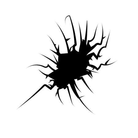 fissure: Vector fissure Illustration