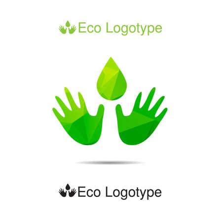 logotype: ecology logotype Illustration