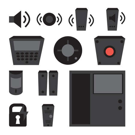 detectors: simple set of detectors icons
