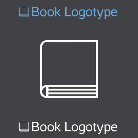 directory book: icon of book or school symbol