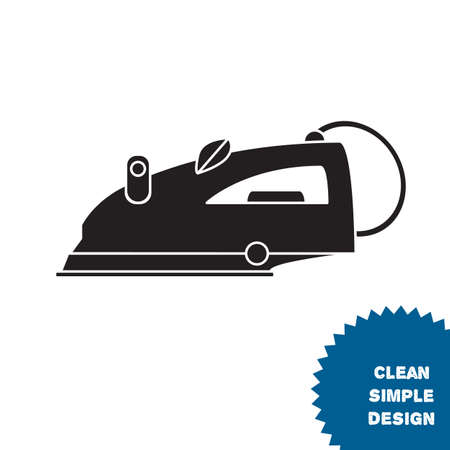 steam iron: Isolated steam iron icon. Modern vector illustration Illustration