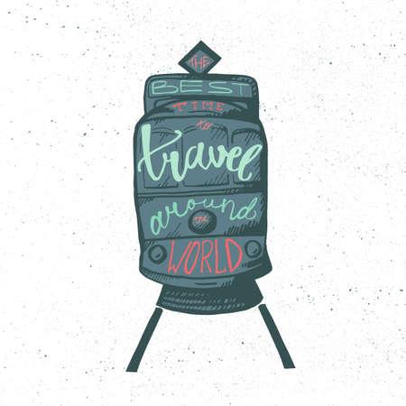 tramcar: Inspirational vintage lettering.