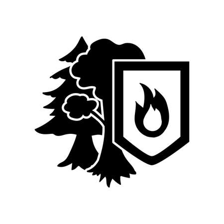 protection icon: Environment Protection Sticker. Ecology and nature protection icon. Vector Illustration