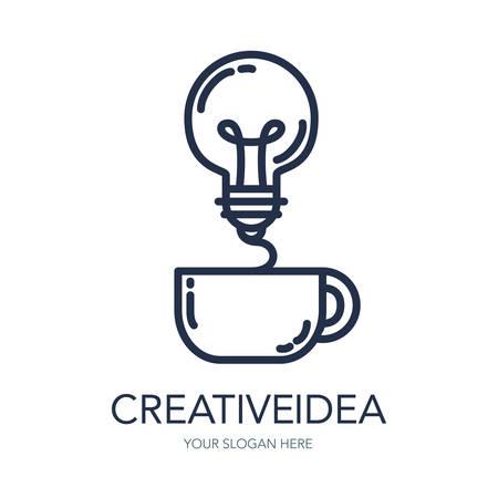 Simple Creative Success Idea Logo Innovation Symbol Light Bulb