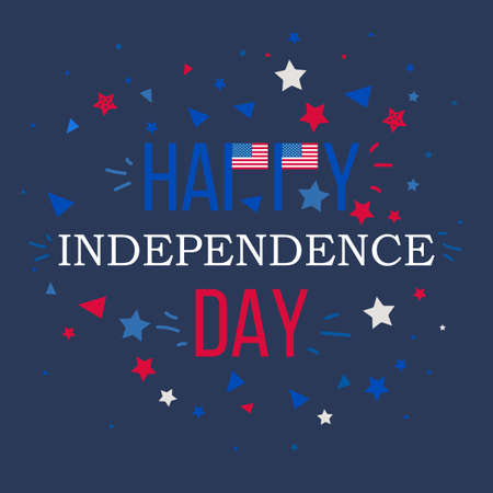 4th of july usa independence day celebration banner national 4th of july usa independence day celebration banner national american greeting vector stock vector m4hsunfo