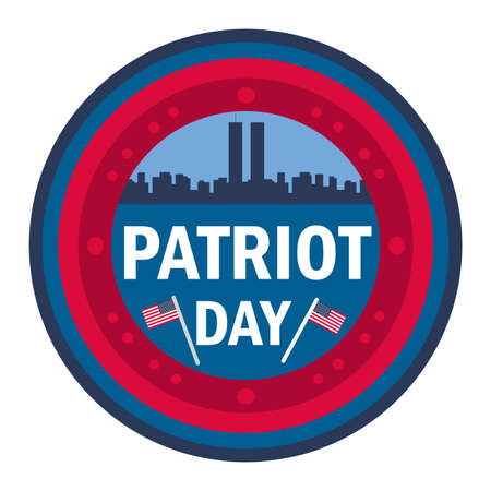 Patriot Day banner. Vektorové ilustrace