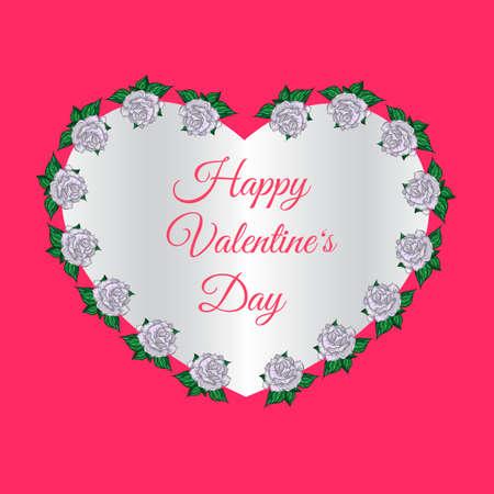 Nice Stylish Valentine Day Illustration Illustration