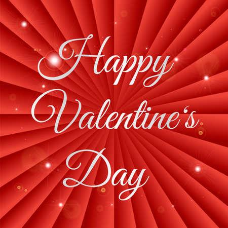 Nice Stylish Valentines Day Illustration Illustration