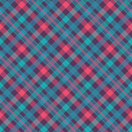Tartan color seamless vector pattern Illustration