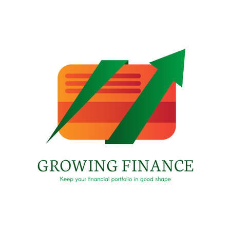 Internet banking flat gradient icon. E-payment, money transaction logo. Cashless payment clipart Illustration
