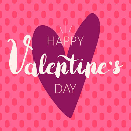 Nice Stylish Valentine Day Illustration Ilustração
