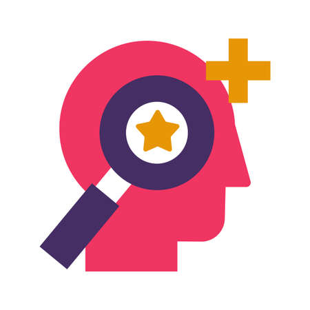 Personnel selection and recruitment flat vector icon. Headhunting, talent search color pictogram