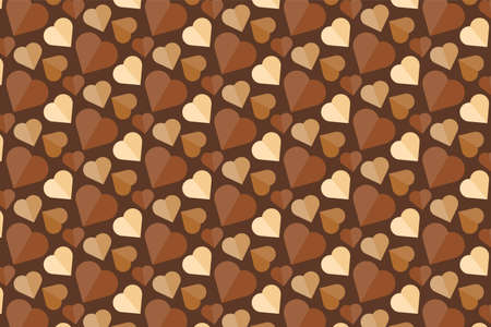 World Chocolate Day Banner. Tasty Dessert Background. Vector 스톡 콘텐츠 - 150917524