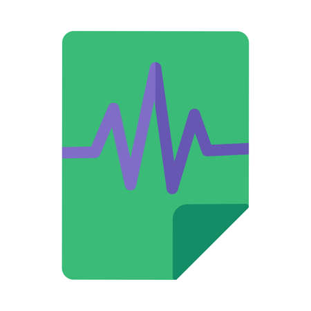 Voice record flat vector icon. Speech transcription. Multimedia production. Sound recognition