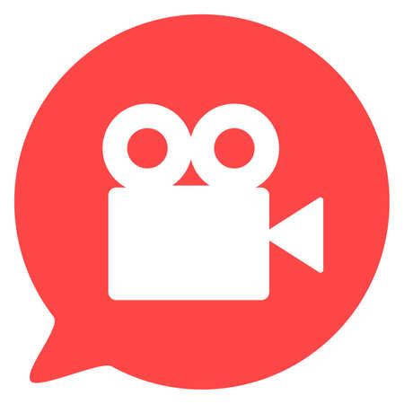 Video camera silhouette square icon 스톡 콘텐츠 - 163931643