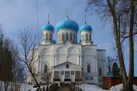 architecture monumental: Orthodox cathedral in the monastery of St. Abraham under Chuhloma