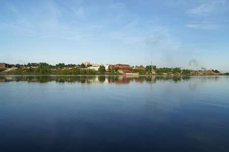 kostroma: View of the city Kostroma across the Volga