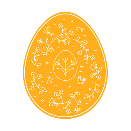 Vector illustration of Easter Eggs. Vettoriali
