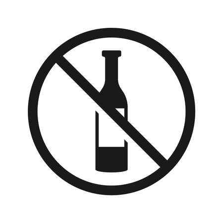 No drink sign.