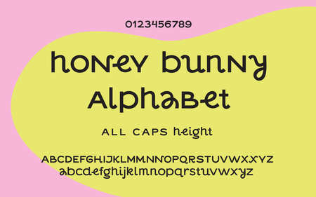 Funny awesome capital alphabet letters and numbers. Use uppercase to classic all caps type and use lowercase to write something creative or mix them for original designs.