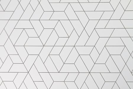 Szerkezete négyszögek és háromszögek építész Delugan a homlokzat EYE Filmintézet Amszterdamban, Hollandiában