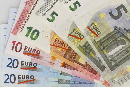 Görög kilépés, Görögország kilépne az euró, láthatóvá hullám Euro bankjegyek áthúzott görög karakterek
