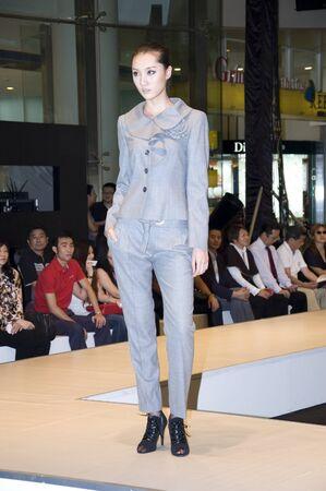 CHINA, SHENZHEN - SEPTEMBER 27: Fashion Week, models promote European brands, September 27, 2009 in Shenzhen, China. Stock Photo - 8465593