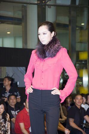CHINA, SHENZHEN - SEPTEMBER 27: Fashion Week, models promote European brands, September 27, 2009 in Shenzhen, China. Stock Photo - 8465617