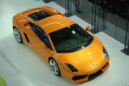 CHINA, SHENZHEN - JUNE 14: Shenzhen-Hong Kong-Macao Auto Show, Lamborghini cars presented on June 14, 2010 in Shenzhen.