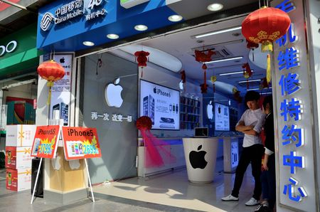 SHENZHEN, CHINA - APRIL 3: SEG famous electronic market in HuaQiangBei road. Dozens of mobile phones' shops April 3rd, 2018. Editorial