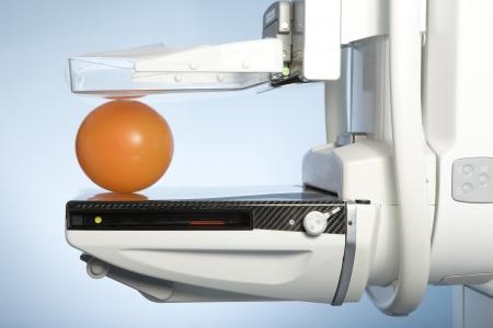cancer screening: laboratory with mammography machine
