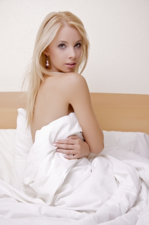 elegance fashion girls look sensuality young: portrait of a beautiful adult sensuality blonde woman
