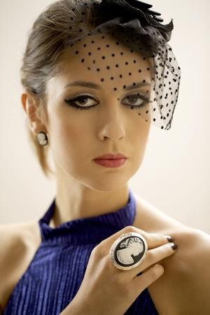 portrait of a beautiful adult sensuality brunette woman  Stock Photo - 17134155