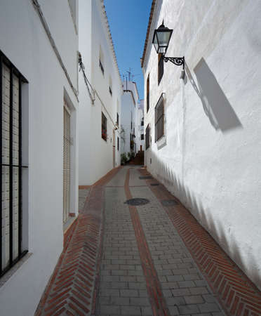 costa blanca: Istan is a beautiful town in the Malaga province in Andalusia, Southern Spain   Stock Photo