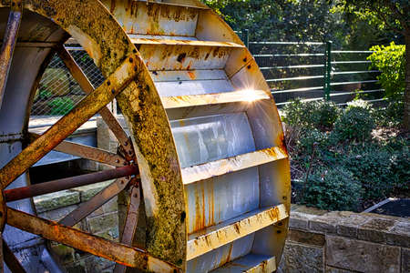 water wheel: Water Wheel Stock Photo