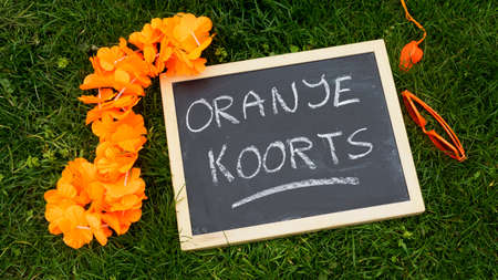 supporters articles of the Dutch football photo