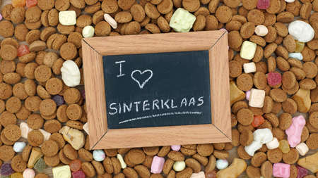 nicolaas: Ginger nuts for the Dutch Santa-Claus celebration for the 5th of December