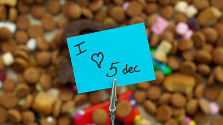 festiveness: I love the 5th of December written in Dutch for the Santa-Claus celabration in the Netherlands