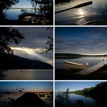 Scandinavian Lakes (Postcard) photo