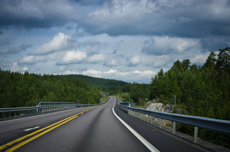 centric: Road in lappland