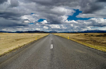 centric: Road in iceland