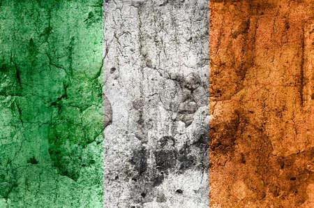 Irish Flag  Grunge  photo