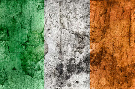 eire: Irish Flag  Grunge