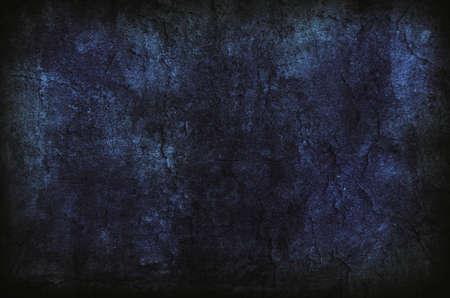 Abstract Deep Dark Blue Wall Texture Stock Photo